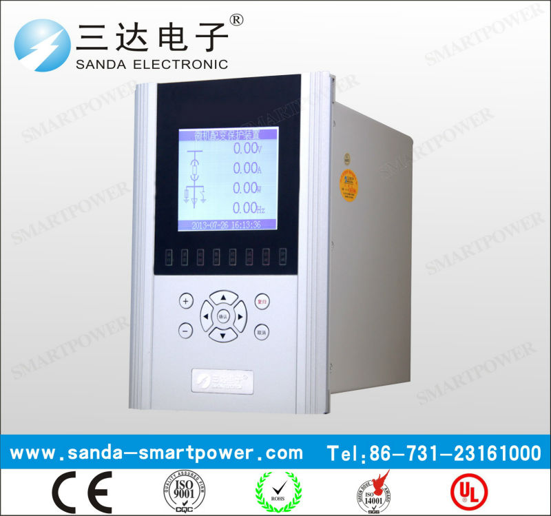 Earth Fault Protect Auto Reclose Microcomputer Relay Protect Control