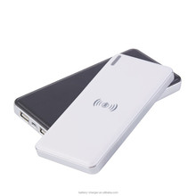 Wireless charger 10000mah qi Wireless charger powerbank ce fcc rohs