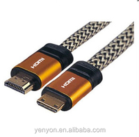 3m Gold HDMI Cable Lead 2.0 High Speed Ethernet 1080p 2160p 3D Blu-Ray HDTV PC