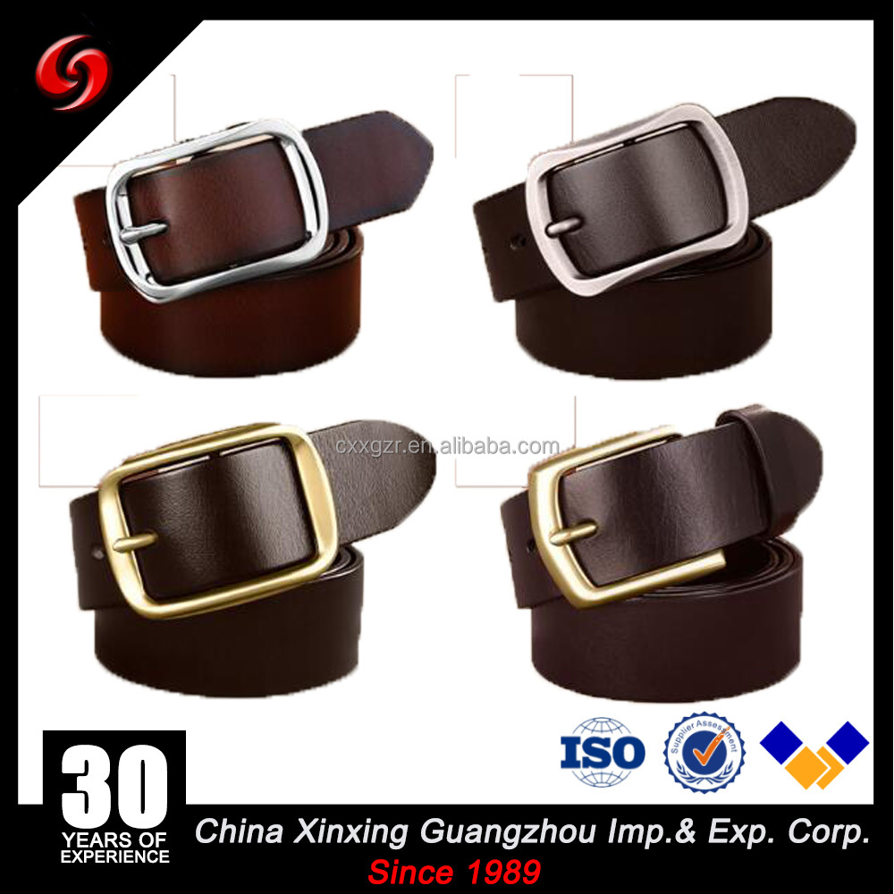 Genuine Leather Custom High Quality Handmade Western Style Leather Belts For Men