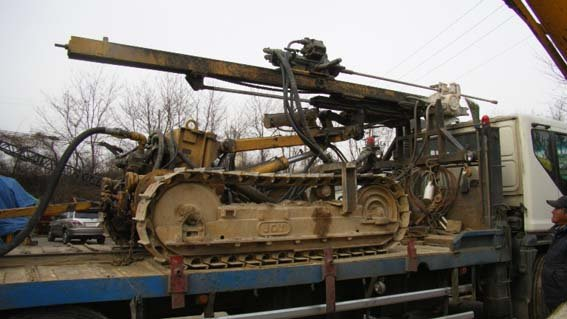 Used Rock Drilling Machine