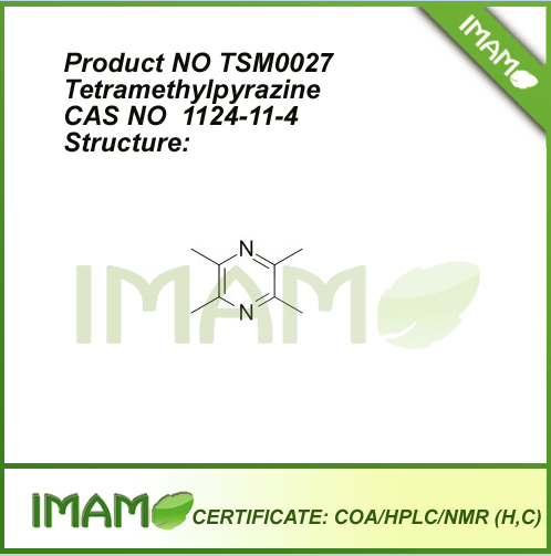 TSM0027 Tetramethylpyrazine 1124-11-4 By HPLC 98%
