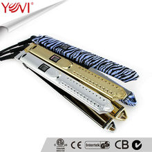 Professional best colors hair straightener with LCD MCH