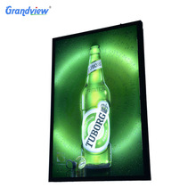 Customized size Aluminium Picture Frame Outdoor waterproof LED wall Light Box