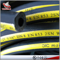 China Hydraulic Manufacturer The Most Popular High Pressure Rubber Hose Pipe