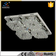 Free Sample Crystal Ceiling Lamp Locker Chandelier With Led Bulbs