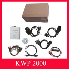 KWP2000 + Plus ECU Flasher Chip Tuning KWP 2000 OBD2 II Chip Tunning ECU KWP2000 Plus Diagnostic Tool best quality best service