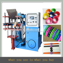 machine for silicone bracelet mold custom silicon wristband/adjustable silicon wristband CHINA debossed ink-filled wristband