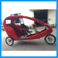 1000w mini cabin 3 wheel electric cycle rickshaw