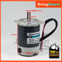 Bringsmart 4D40GN-C 24V 1800rpm 40W 0.8A 2.2kg Reversed Adjustable Speed Permanent Magnet DC Motor