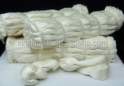 100% raw silk, 100% silk yarn