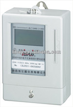Single phase electric panel meters electronic prepaid energy meter