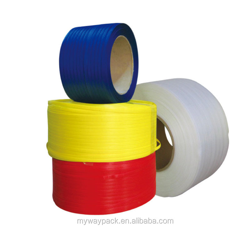 Colorful high tensile PP plastic strap packing belt