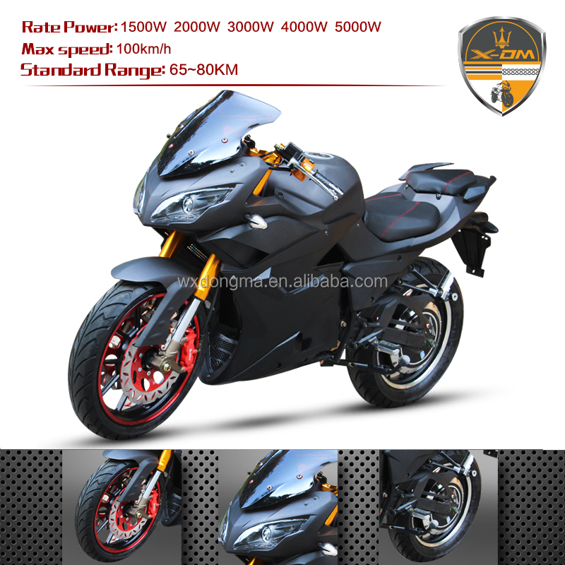 7000W 72VHigh Powerful Electric Motorcycle 2 series battery for Adult DP