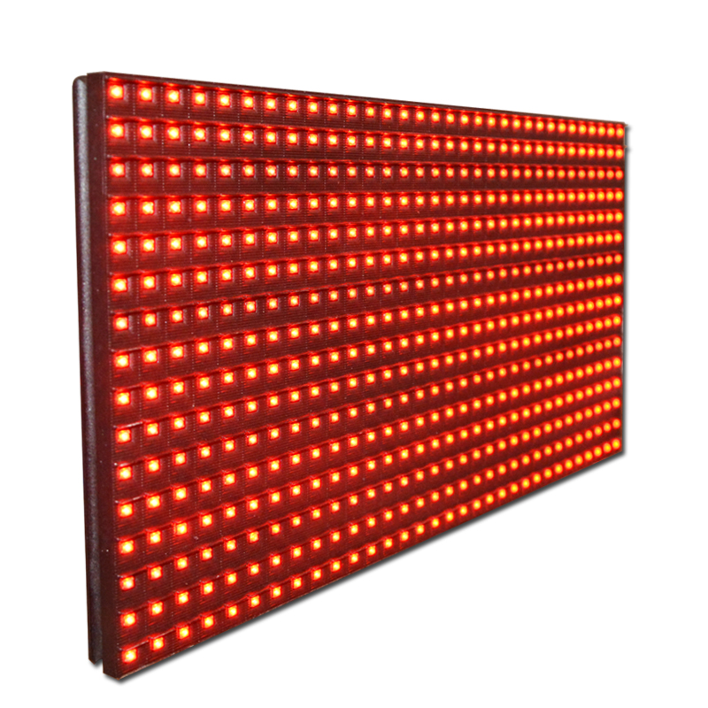 Outdoor Advertising Display <strong>Screen</strong> P10 1R 32*16 Led Module For Text