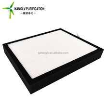 Fresh air pre filter, h14 hepa paper panel air filter for home