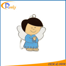 Products in demand 2017 angel wing keychain in bulk