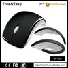 High quality Promotional 2.4g Arc Folding Foldable Wireless Mouse
