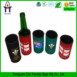 Neoprene wine bottle cooler neoprene slap beer can coolers stubby holder