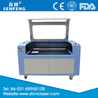 Fabric glass wood die leather laser cutting machine engraver price