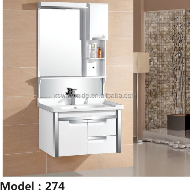 Best Price Modern Design Wall Mounted PVC bathroom cabinet/vanity/furniture