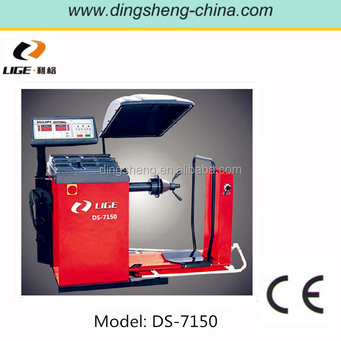 Automatic wheel alignment and wheel balancing for truck wheel balancing CE approve