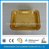Recyclable Household Environmental Rectangular Disposable Pollution-free Convenient ISO9001 ISO14001 SGS FDA Box Aluminium