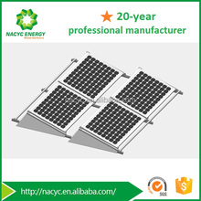 Photovoltaic Panel Flat Roof Solar Mounting Bracket