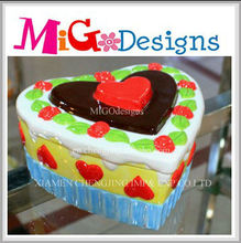 Direct Factory Produce Wholeasle OEM Decor Gift Cupcake Jewelery Box