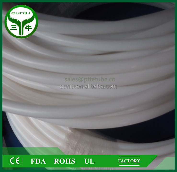 Clear PTFE hose in ID 8mmx OD <strong>10mm</strong>,PTFE hose assembly in china /suniu