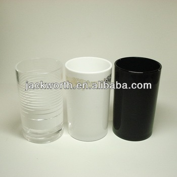 Home accessory of cylinder plastic cup