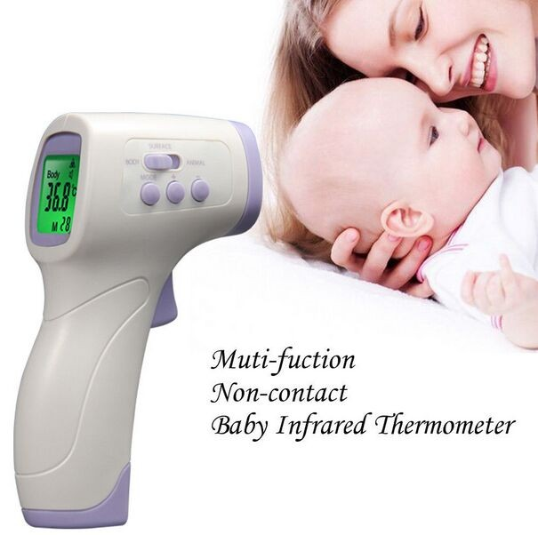 Household Usage and Infrared Thermometer Theory forehead Infrared thermometer