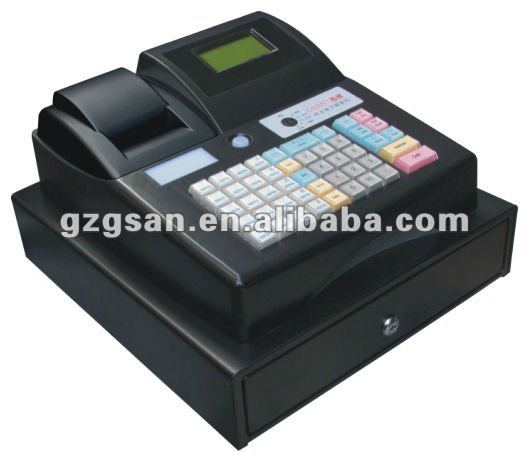 Fiscal electronic cash register with printer and cash drawer (GS-686E)