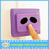 Home products silicone light switch cover safety cartoon image switch cases