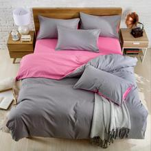 OEKO plain dyed microfiber quilt &amp; pillow cover bedding <strong>sets</strong>