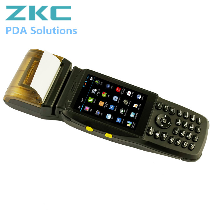 Android Handheld Mobile GPRS Pos Terminal Wireless PDA with Touch Screen ZKC3502