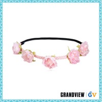 Newest design top quality flower girl tiara