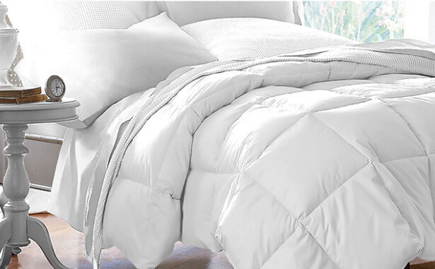 Yintex Goose Down Alternative Luxurious Reversible Comforter Full Queen and King