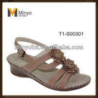 Minyo Latest design China wholesale women sandals shoes summer 2014