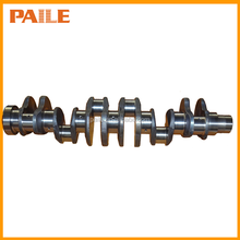 Forged steel and ductile cast iron crankshaft for diesel engine model MITSUBISHI 6D22 ME999368