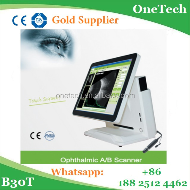 Desk type China popular ophthalmic a/b scan equipment :High frequency, beautiful design, great performance B30T