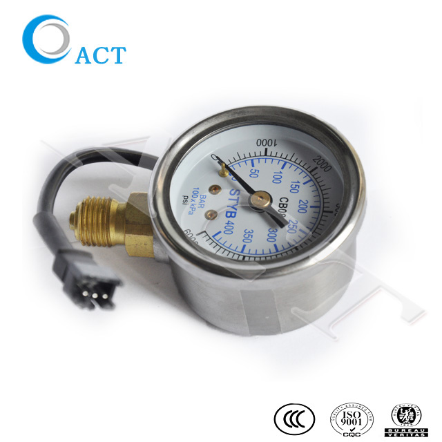 manometer pressure gague for natural gas with high quality