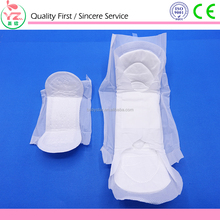 Super absorbency disposable sanitary pads wholesale raw materials for sanitary napkins