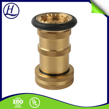 Thread Custom UL Listed Fire Fighting Hose Reel Nozzle