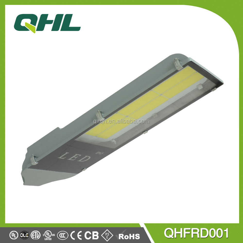 50-200W listed bridgelux dimmable UL 80W LED street light <strong>10</strong> years warranty with 140lm/w