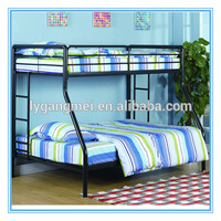Modern design adult metal double twin bed