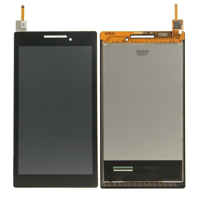 full new high quality  For Lenovo Tab 2 A7-10 A7- 10F A7-20 A7-20F LCD Display Whit Touch Screen  Digitizer
