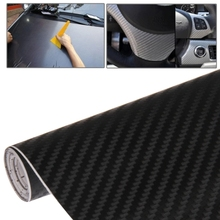 Car Decorative 3D Carbon Fiber PVC Sticker Auto Exterior Sticker