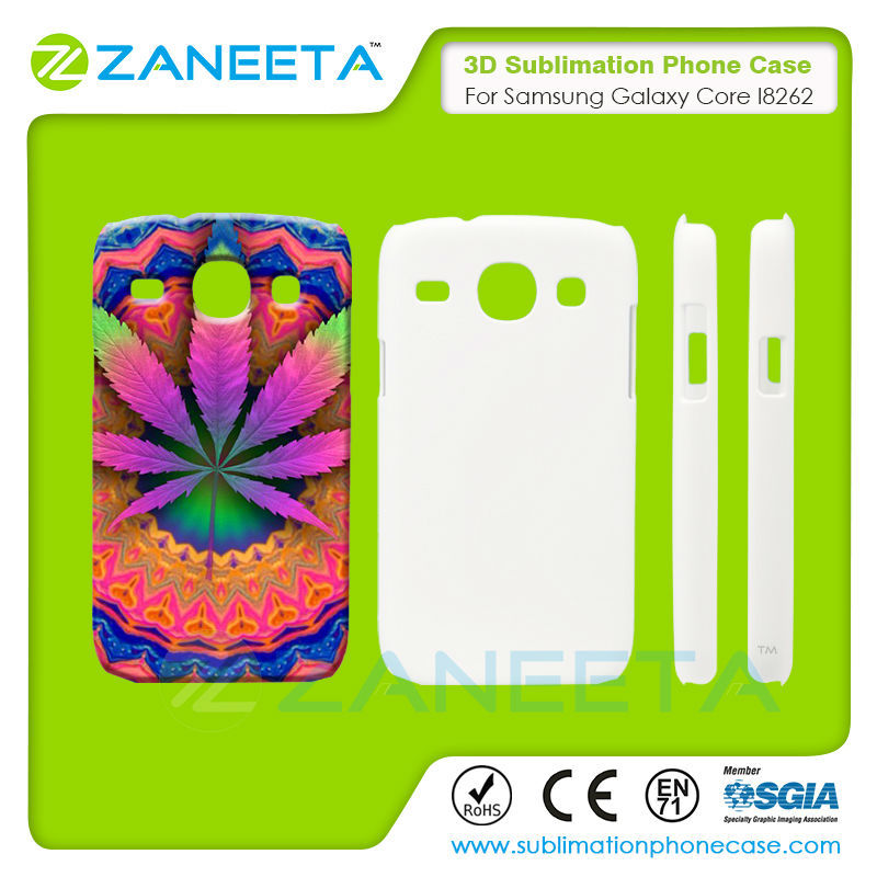 Factory Price High Quality 3d Sublimation Phone Case for Samsung Galaxy Core I8262 | sublimation phone case for samsung