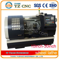ISO Quality Ensure Original Price Alloy wheel repair CNC turning Lathe